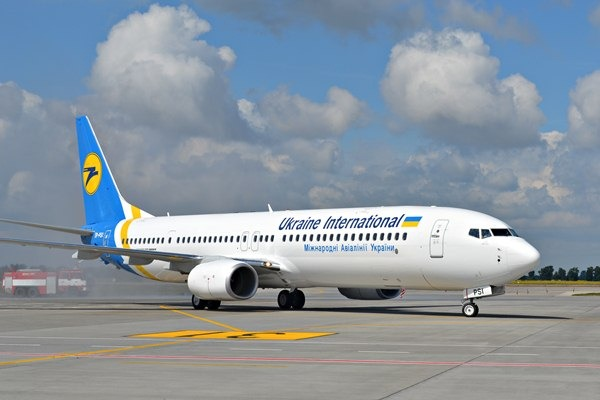vuelo de Ukraine International Airlines